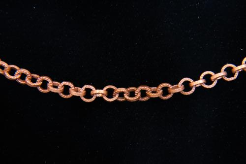 Textured Circular Cable Chain