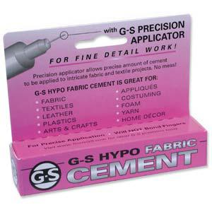 GS Hypo Fabric Cement - 1/3 fl oz (purple)