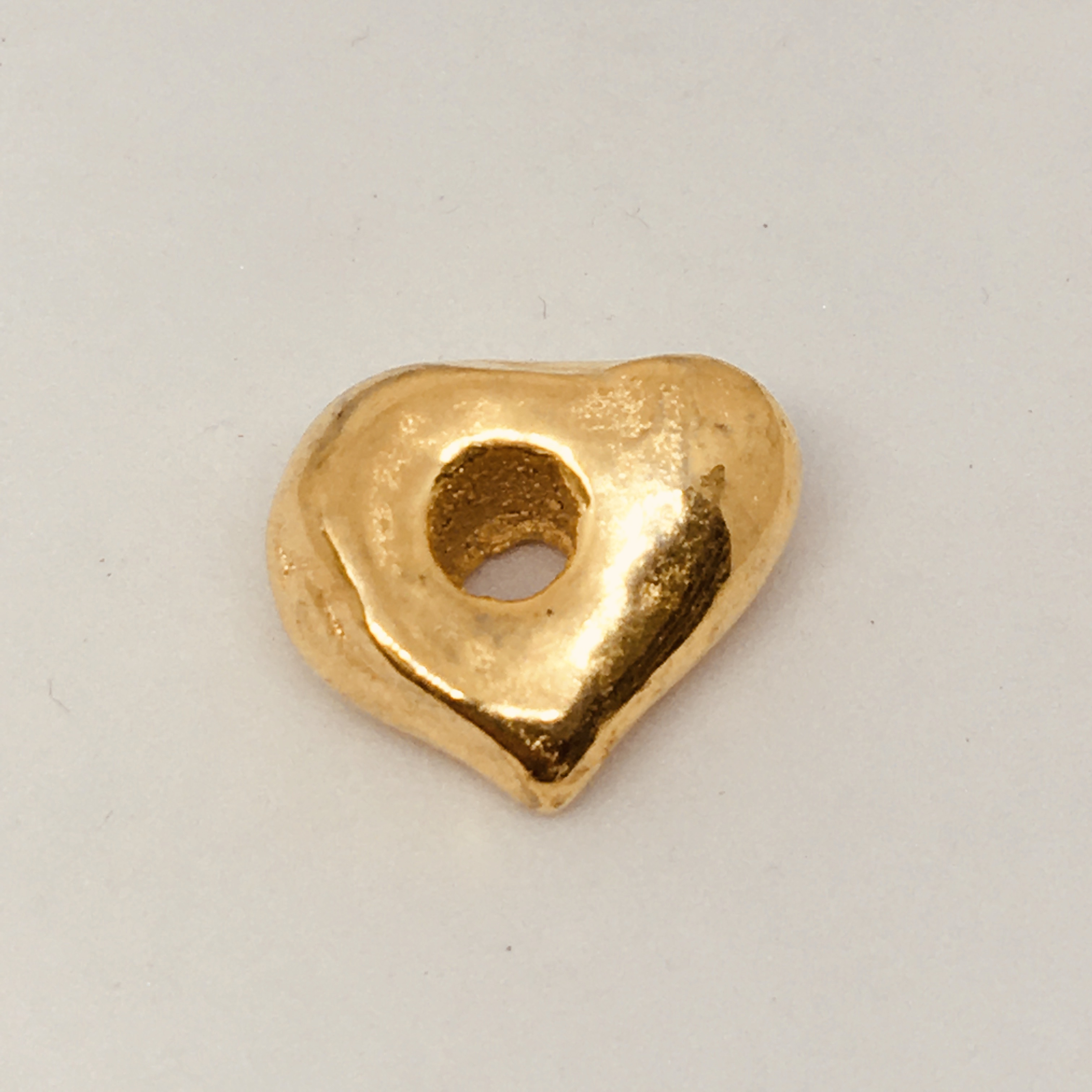 Nugget 16x8mm Gold