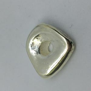 Nugget 16x8mm Silver