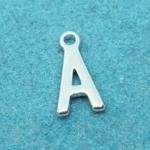 Letter A Silver Plated
