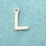 Letter L Silver Plated