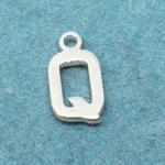 Letter Q Silver Plated