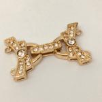 Gold (EPG) 26x15 Crys Buckle Clasp