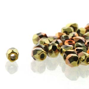 Crys Calif Gold Rush 2/6mm