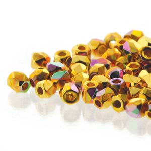 Crys 24K Gold Plate AB 2/6mm